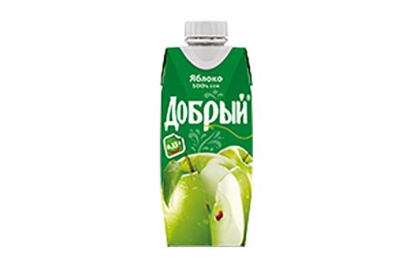 """Сок """"Добрый"""" Яблоко 0.33 л."""