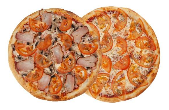 Сет из 2-х любых пицц