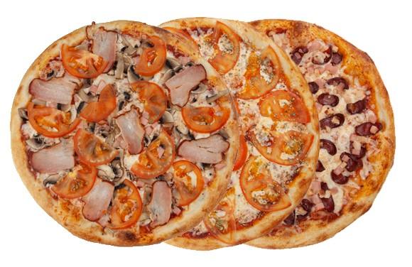 Сет из 3-х любых пицц