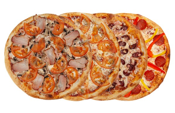 Сет из 4-х любых пицц
